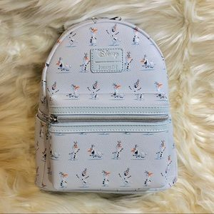 NWT Disney Loungefly Frozen olaf mini bookbag